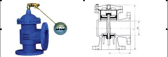 h142x 液压水位控制阀,h142x活塞式 液压水位控制阀,是一种自动控制图片